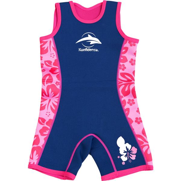 Konfidence Warma Wetsuit Pink/Hibiscus